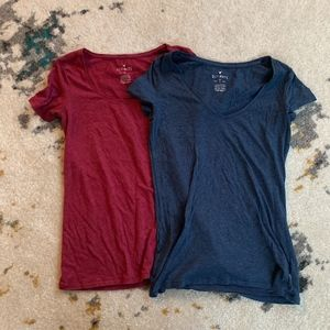 Set of Two American Eagle Ultimate T-shirts in XS